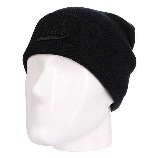 Шапка Skills Script BlackШапка Skills Script - мастхэв любого гардероба. Не дай себе замерзнуть!Характеристики:Изготовлена из 100% акрила. Широкий отворот. Вышитый логотип на лицевой части.<br><br>Цвет: черный<br>Тип: Шапка<br>Возраст: Взрослый<br>Пол: Мужской