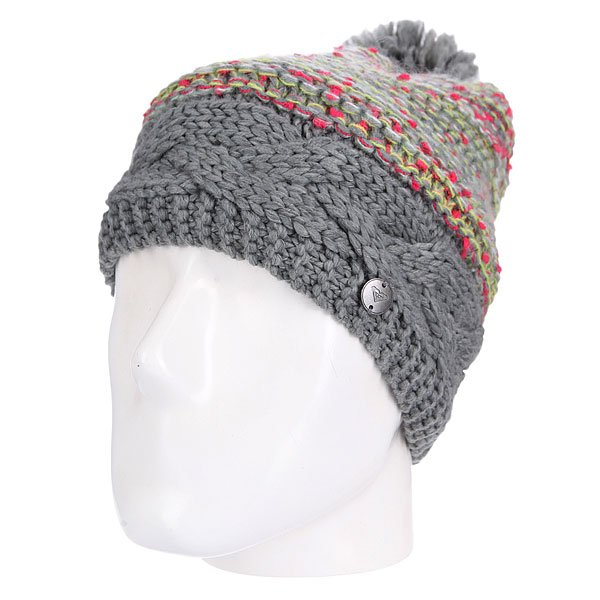 Шапка женская Roxy Cheerful Beanie Heritage Heather от Proskater