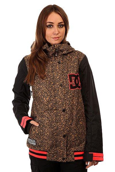 Куртка женская DC Dcla Jkt Hebon Leopard