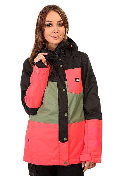 Куртка женская DC Defy Jkt Anthracite