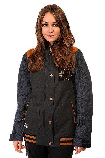 Куртка женская DC Dcla Se AnthraciteЕсли у Вас есть любимая куртка в стиле формы американских колледж-курток, то у Вас есть шанс обзавестись зимним вариантом, выгодно отличающимся не только утеплителем, но и влагостойкой тканью Exotex 10K. Функциональная куртка DC DCLA SE снабжена удобным карманомна рукаве для ски-пасса, внутренним сетчатым карманом и карманом на липе. Благодаря дополнительным манжетам из лайкры и снегозащитной юбке Вы наверняка сможете избежать попадания снега под одежду, а высокий ворот и регулируемый капюшон несомненно порадуют Вас в ветреную погоду и метель. Характеристики:Влагостойкая тканьExotex 10K. Утеплитель: 80 гр туловище, 40 гр рукава. Подкладка: тафта. Прямой крой. Проклеенные швы. Сетчатые карманы для вентиляции. Снегозащитная юбка.Капюшон с 3 вариантами регулировки. Вышитый логотип DC на груди. Внутренние манжеты из лайкры. Регулируемые манжеты на липучке. Контрастный эластичный подол.Карман на молнии на рукаве для ски-пасса. Два кармана для рук на молнии.Внутренний сетчатый карман. Внутренний карман на липучке. Медиа-карман.КоллекцияFoundation.<br><br>Цвет: синий<br>Тип: Куртка утепленная<br>Возраст: Взрослый<br>Пол: Женский
