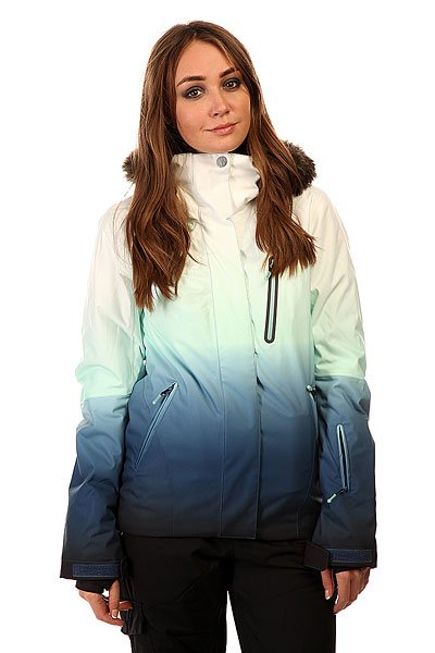 Куртка женская Roxy Jet Ski Prem Jk Gradient Print BIOTHERM