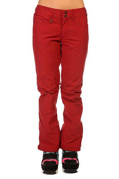 Штаны сноубордические женские Roxy Wood Run Pt J Snpt Pompeian RedЕсли Вы ищете штаны, которые отлично проявят себя на склоне и, при этом, в которых Вы будете выглядеть на все 100, то это отличный вариант. Качественная модель с мембраной 10K и лёгким утеплителем. Технические характеристики:Подкладка - тафта.Влагостойкая ткань DRY-FLIGHT 10K.Критические швы проклеены.Регулировка пояса.Система подтяжки края штанин для защиты от износа и грязи.Края штанин на молнии.Сеточная вентиляция.Гетры из тафты.Держатель для скипасса.Фасон - приталенный (tailored Fit).<br><br>Цвет: бордовый<br>Тип: Штаны сноубордические<br>Возраст: Взрослый<br>Пол: Женский