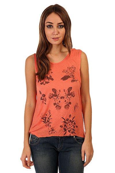 Майка женская Insight Plumeria Tank Coralina<br><br>Цвет: оранжевый<br>Тип: Майка<br>Возраст: Взрослый<br>Пол: Женский