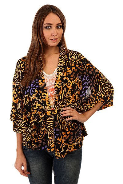 Кардиган женский Insight Royal Serpentine Kimono Top Black