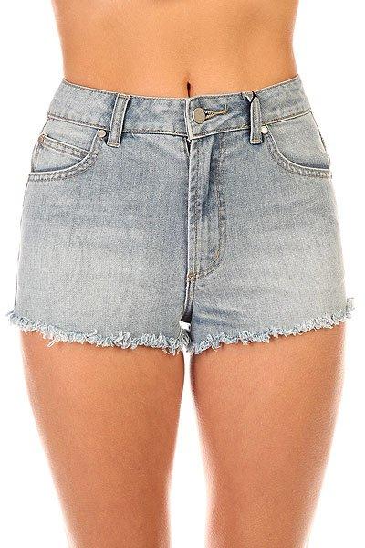 Шорты джинсовые женские Insight Spokes Short Mid Indigo Trash<br><br>Цвет: синий<br>Тип: Шорты джинсовые<br>Возраст: Взрослый<br>Пол: Женский