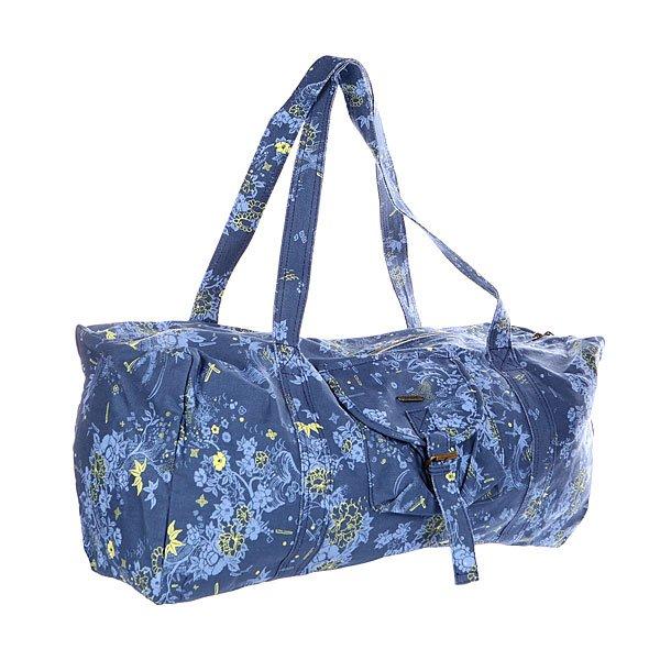 Сумка через плечо женская Insight Denim Floral<br><br>Цвет: синий,голубой,желтый<br>Тип: Сумка через плечо<br>Возраст: Взрослый<br>Пол: Женский