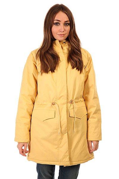 Куртка парка женская Today Ws 15 SandК приближающимся холодам бренд Today приготовил теплые куртки! Они сделаны из плотной ткани, а легкая синтепоновая подкладка не даст вам замерзнуть в холодную погоду. Капюшон сделан с приятной на ощупь подкладкой и мехом, который при желании можно отстегнуть. Внутри и снаружи куртки есть много карманов.Характеристики:Внутренняя подкладка из тафты. Застежка – молния+кнопки. Потайной карман на молнии. Фиксированный капюшон с отделкой из искусственного меха. Два прорезных кармана для рук. Регулировка ширины пояса. Фасон: парка (parka).<br><br>Цвет: желтый<br>Тип: Куртка парка<br>Возраст: Взрослый<br>Пол: Женский