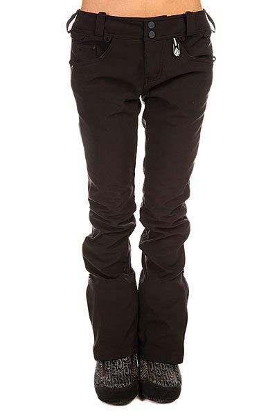 Штаны сноубордические женские Volcom Battle Stretch Pant Black