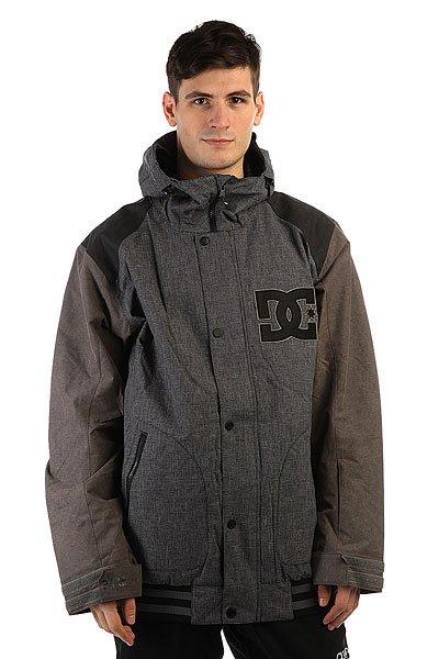 Куртка DC Dcla Se Jkt AnthraciteСноубордическая куртка в классическом университетском стиле с мембраной 10K и хорошим функционалом. Отличный вариант, если Вы хотите непринуждённо выглядеть на склоне, демонстрируя при этом все свои навыки.Характеристики:Дышащая мембранаEXOTEX 10K.Утеплитель: 80г. - тело; 40г. - рукава и капюшон. Подкладка из тафты. Проклеенные критические швы. Система сетчатой вентиляции на молнии подмышками. Снегозащитная юбка. Тёплый воротник. Эластичные манжеты и подол. Манжеты с отверстиями для больших пальцев. Регулируемый 3 способами капюшон. Карман для ски-пасса. Медиа-карман. Боковые карманы на молнии. Внутренний сетчатый карман. Войлочный логотип DC.<br><br>Цвет: синий,коричневый<br>Тип: Куртка утепленная<br>Возраст: Взрослый<br>Пол: Мужской