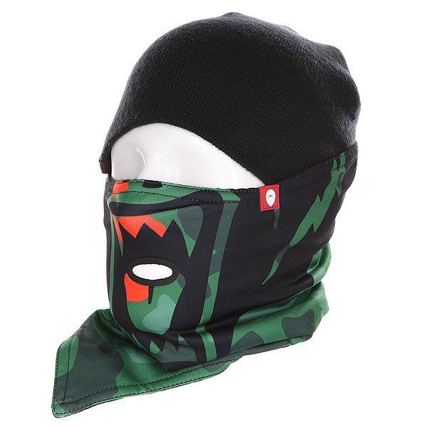 Маска Airhole S1 Terror Snow<br><br>Цвет: черный,зеленый<br>Тип: Маска<br>Возраст: Взрослый