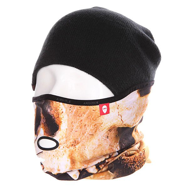 Маска Airhole At2 Drytech Skull маска airhole s2 3 layer black