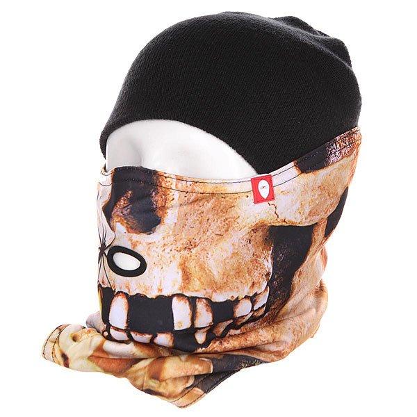Маска Airhole S1 2 Layer Skull<br><br>Цвет: бежевый,черный<br>Тип: Маска<br>Возраст: Взрослый<br>Пол: Мужской