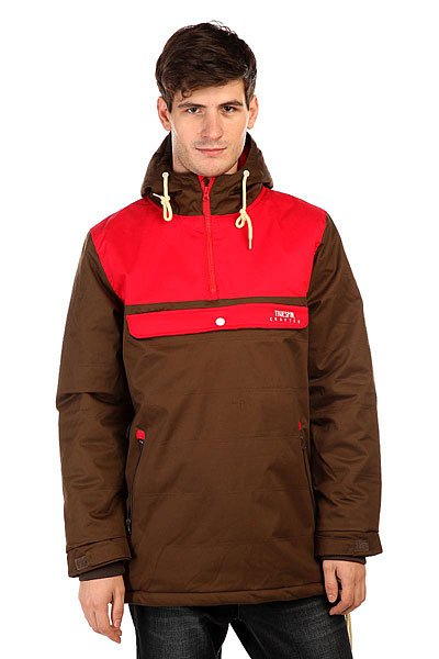 Анорак TrueSpin Cloud Jacket Coffee/Red