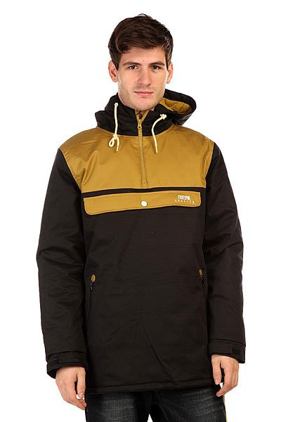 Анорак TrueSpin Cloud Jacket Old Black/Beige