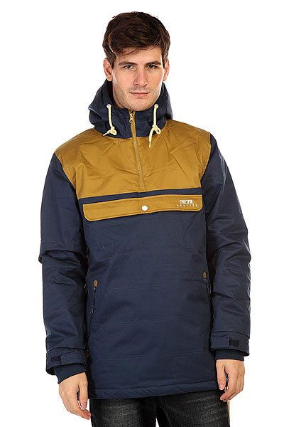 Анорак TrueSpin Cloud Jacket Blue/Beige