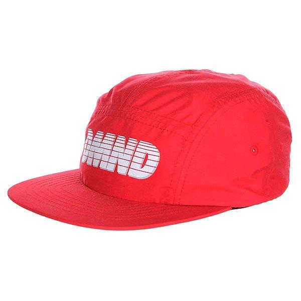 бе-йсболка-пятипане-лька-diamond-glory-camp-hat-red