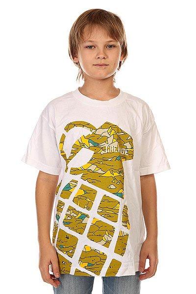 Футболка детская Grenade Stamp White/Camo<br><br>Цвет: белый<br>Тип: Футболка<br>Возраст: Детский