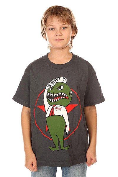 Футболка детская Grenade Rexed Charcoal<br><br>Цвет: серый<br>Тип: Футболка<br>Возраст: Детский
