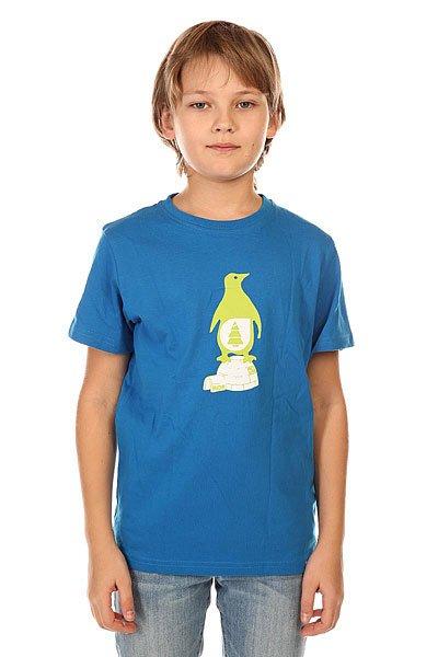 Футболка детская Picture Organic Igloo Blue<br><br>Цвет: синий<br>Тип: Футболка<br>Возраст: Детский