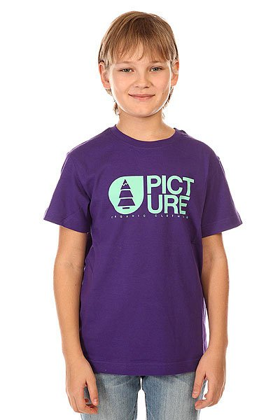 Футболка детская Picture Organic Basement Tee Purple