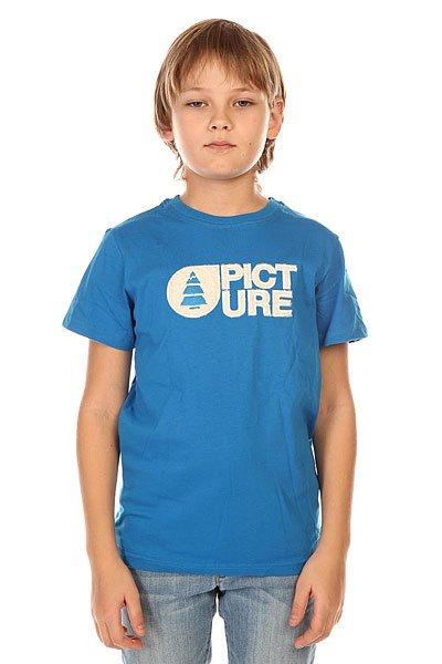 Футболка детская Picture Organic T Shirt Basement Blue Plush