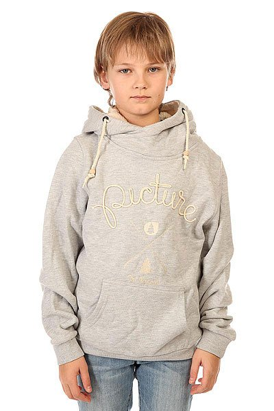 Толстовка кенгуру детская Picture Organic Cornely Grey