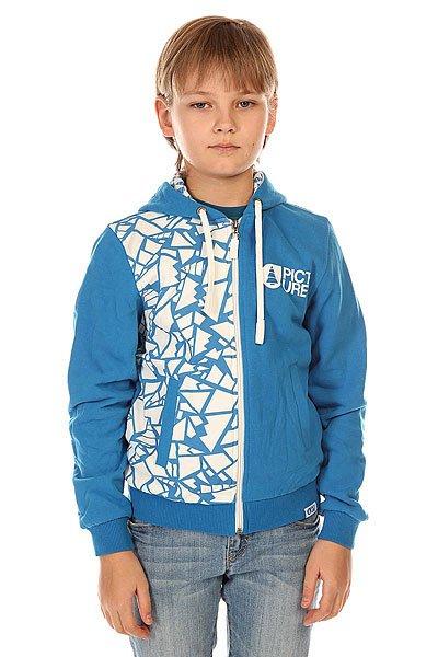 Толстовка классическая детская Picture Organic Sweat Style Blue<br><br>Цвет: синий<br>Тип: Толстовка классическая<br>Возраст: Детский