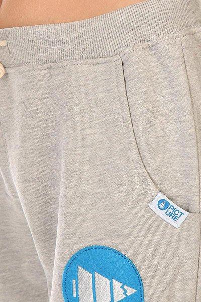 Штаны широкие детские Picture Organic Rampe 14 Pans Grey Melange от Proskater