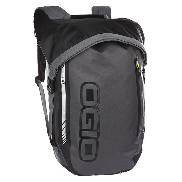 Рюкзак спортивный Ogio All Elements Pack StealthЭтот потрясающий рюкзак от командыOgio разработан специальнодля велосипедистов,байкеров и альпинистов. Невероятно функциональный и надежный, он станет прекрасным спутником в поездках по городу или сложных туристических походах. Смело берите с собой любое оборудование! Полностью водонепроницаемый верх защитит содержимое рюкзака от попадания снега и влаги, а двойной нагрудный ремень с регулировкой в двух направлениях ипрочные замки всех креплений позволят Вам перевозить рюкзакдаже на высокой скорости,не опасаясь, что его сорвет сильными порывами ветра. Эргономичные лямки и удобная спинка с сетчатыми вентиляционными вставками повысят комфортпри ношении тяжелых грузов.Кроме того, Ogio All Elements отлично организован внутри: имеет съемный вкладыш, отделение для ноутбука и планшета, а так же внешнюю молнию для быстрого доступа к основному отделению.Гладкий приятный дизайн порадует любителей лаконичного стиля и позволит легко сочетать рюкзак как с повседневной одеждой, так и с крутым байкерским снаряжением. Отличная модель для тех, кто любит свободу, скорость и путешествия.Характеристики:Полностью водонепроницаемый рюкзак.Просторное основное отделение. Регулируемые лямки эргономичной формы.Нагрудный ремень с регулировкой в двух направлениях для равномерного распределения нагрузки. Поясной ремень. Прочные системы крепления ремней для безопасной транспортировки рюкзака на высокой скорости. Уплотненная спинка с вентиляционными вставками. Молния для быстрого доступа в основное отделение.Внешний карман на молнии. Ручка для переноски. Съемный вкладыш.Чехол для ноутбука диагональю до15.Карман для планшета. Логотип Ogio.<br><br>Цвет: серый,черный<br>Тип: Рюкзак спортивный<br>Возраст: Взрослый