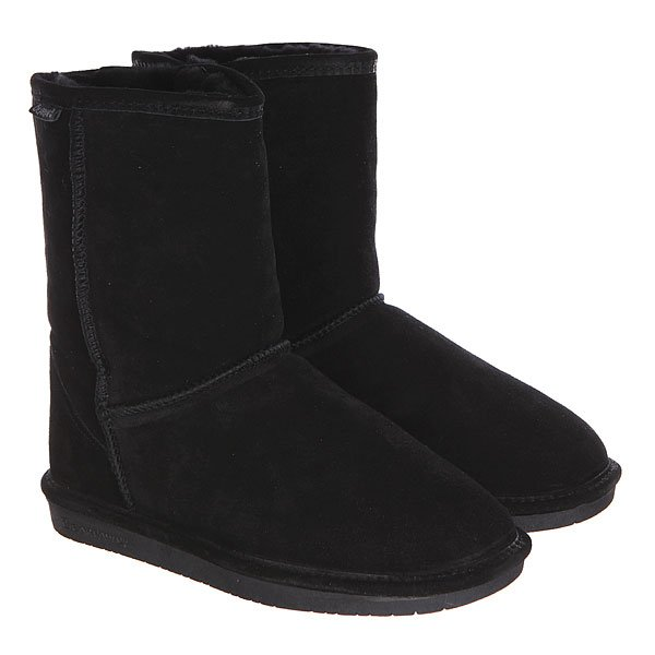 ���� ������� Bearpaw Emma Short Black Ii Black