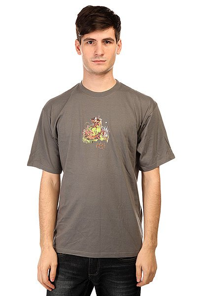 Футболка Apo Shirt Amanite Grey<br><br>Цвет: серый<br>Тип: Футболка<br>Возраст: Взрослый<br>Пол: Мужской