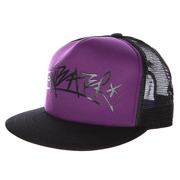 Бейсболка с сеткой Anteater Trucker violet<br><br>Цвет: черный,фиолетовый<br>Тип: Бейсболка с сеткой<br>Возраст: Взрослый