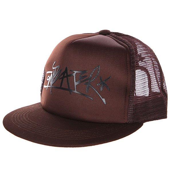Бейсболка с сеткой Anteater Trucker brown<br><br>Цвет: коричневый<br>Тип: Бейсболка с сеткой<br>Возраст: Взрослый