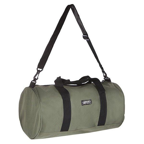 Сумка спортивная Anteater Dufflebag hakiСумка Anteater - Duffle Bag, удобная сумка для поездок и повседневного использования. Сбоку в разрезе представляет собой круг.Технические характеристики: Объемный основной отдел на молнии.Без подкладки.Двойные ручки.Регулируемый ремень.Контрастный принт сбоку.<br><br>Цвет: зеленый<br>Тип: Сумка спортивная<br>Возраст: Взрослый<br>Пол: Мужской