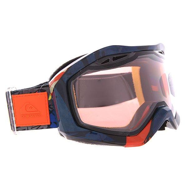 Маска для сноуборда Quiksilver Fenom Art Series Shoking OrangeНеобычный дизайн масок Quiksilver Fenom Art Series сразу привлекает к себе внимание.Характеристики:Яркие, стильные, оригинальные маски обладают ударопрочной сферической линзой, которая обеспечивает широкое поле зрения и сводит к минимуму искажения. Линза на 100% защищает от ультрафиолетового излучения.Антифоговое покрытие не дает маске запотевать изнутри. Прочная оправа выполнена из полиуретана для обеспечения комфортной посадки и обладает отличной системой вентиляции. Широкий регулируемый ремешок с накладкой против скольжения.<br><br>Цвет: мультиколор<br>Тип: Маска для сноуборда<br>Возраст: Взрослый<br>Пол: Мужской