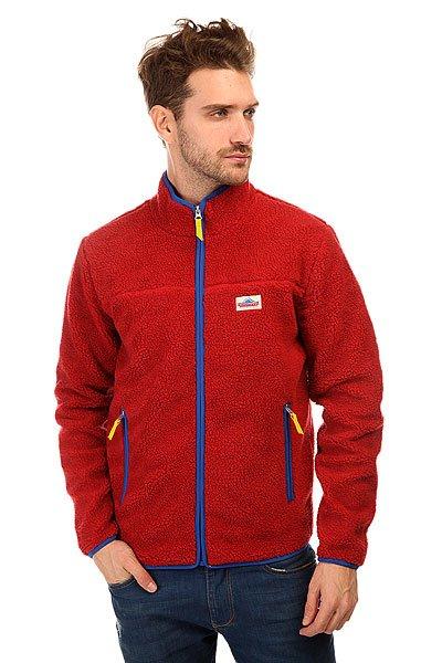 Толстовка утепленная Penfield Brunswick Classic Pile Fleece Jacket Red<br><br>Цвет: красный<br>Тип: Толстовка утепленная<br>Возраст: Взрослый<br>Пол: Мужской