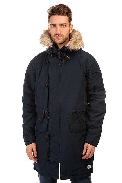 Куртка парка Penfield Paxton Long Insulated Snorkle Jacket NavyОбновленная мужская версия излюбленной зимней парки для тех, кто заботится о своем стиле в любое время года.Характеристики:Внутренняя подкладка из стеганой тафты. Фиксированный капюшон.  Подкладка для подбородка из микрофибры.  Застежка-молния + пуговицы. Регулируемые манжеты. Утепленные карманы для рук. Фасон: парка (parka).<br><br>Цвет: синий<br>Тип: Куртка парка<br>Возраст: Взрослый<br>Пол: Мужской