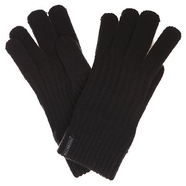 Перчатки Billabong Finger Wool Off Black