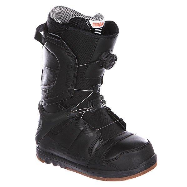 Ботинки для сноуборда Thirty Two Focus Boa BlackОдна из самых совершенных моделей со шнуровкой BOA. Используемые навороты позволяют кататься с BOA даже во фрирайде. Модель для тех, кто ценит комфорт, но не готов ради этого кататься в общественных парках.Характеристики:Влагонепроницаемая формула поверхности.  Внутренник 3F LINER (легкий и термоформируемый с шнуровкой). Артикуляционные мягкие манжеты. Стелька Level 3F анатомической формы с специальным супинатором (выполнена из полиуретана, гасит вибрации и не становится тоньше со временем). Dual Boa Closure System – доработанная система шнуровки BOA.Внутренняя ультралегкая  амортизирующая анатомическая стелька EVA foam. Специальное антимикробное покрытие для предотвращении запаха. Мягкий оптимизированный язычок 3D. Функциональная подошва из натурального каучука.<br><br>Цвет: черный<br>Тип: Ботинки для сноуборда<br>Возраст: Взрослый<br>Пол: Мужской
