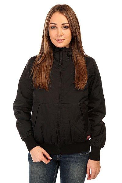 Куртка женская Dickies Hooded Zip Up Jacket Black