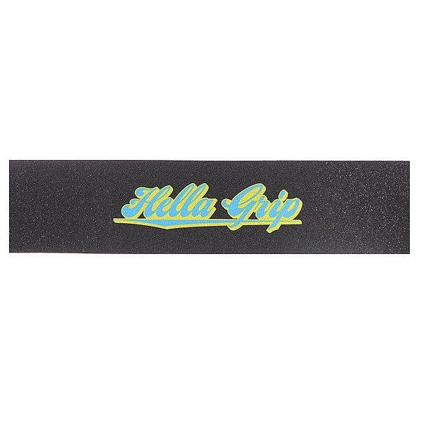 Шкурка для скейтборда Hella Grip Formula G Classic Original Yellow/Blue Formula