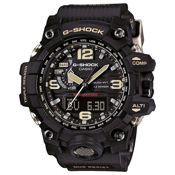 Часы Casio G-Shock Gwg-1000-1AЕще одной моделью, представленной на недавно прошедшем BaselWorld 2015, стали новые часы CASIO G-Shock GWG-1000-1A3, выполненные в грязезащитной версии корпуса «Mud Master». Экспериментируя исключительно с дизайном часов, специалисты CASIO сделали в данной модели более привычную систему управления с функциональной кнопкой на фронтальной поверхности и обеспечили ее дополнительной виброзащитой, благодаря вставкам из Alpha GEL® по бокам и снизу модуля-механизма. Функциональные возможности GWG-1000 остались без изменения. Характеристики:Двойная электролюминесцентная подсветка.Ударопрочный модуль. Двойная защита от грязи, пыли. Защита от вибраций, ударов, центробежной силы. Сапфировое стекло. Кнопочные отсеки с герметичными каучуковыми прокладками. Цифро-аналоговый циферблат. Кварцевый механизм.Устойчивы к колебаниям давления и температуры. Завинчивающаяся заводная головка. Цифровой компас. Альтиметр. Барометр. Таймер. Термометр. Секундомер. Мировое время. Радиосинхронизация. Солнечная батарея. Формат времени – 12/24.Неоновый дисплей. График набора высоты. Память данных высотометра. 5 независимых будильников. Ручная автоматическая настройка – корректировка текущего времени после удара и прочего воздействия. Отключение/включение тона функциональных кнопок.Автоматический календарь. Индикатор уровня заряда.Пластиковый корпус.Полимерный браслет. Металлическая задняя крышка.Водостойкость – 200 метров.Тип элемента питания — CTL1616.<br><br>Цвет: черный<br>Тип: Кварцевые часы<br>Возраст: Взрослый<br>Пол: Мужской