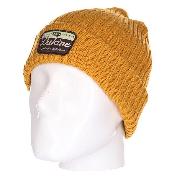 Шапка Dakine Sallinger Harvest<br><br>Цвет: желтый<br>Тип: Шапка<br>Возраст: Взрослый