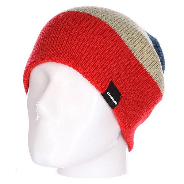 шапка-носок-dakine-lester-red-moroccan-blue