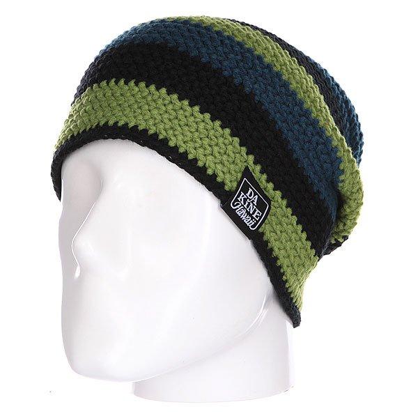 Шапка Dakine Waldo Ocean/Moss<br><br>Цвет: черный,зеленый,синий<br>Тип: Шапка<br>Возраст: Взрослый