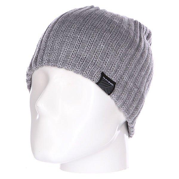 Шапка Dakine Vert Rib Grey<br><br>Цвет: серый<br>Тип: Шапка<br>Возраст: Взрослый