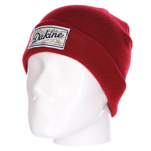 Шапка Dakine Roscoe Cardinal<br><br>Цвет: красный<br>Тип: Шапка<br>Возраст: Взрослый