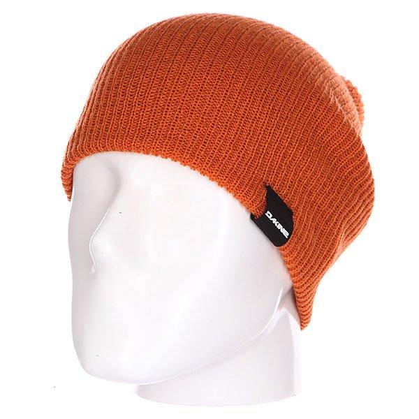 Шапка носок Dakine Tall Boy Rust<br><br>Цвет: оранжевый<br>Тип: Шапка носок<br>Возраст: Взрослый<br>Пол: Мужской