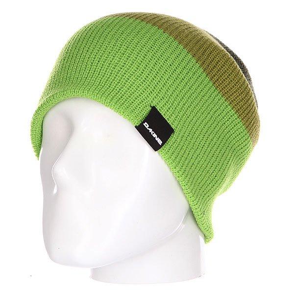 Шапка носок Dakine Lester Lime/Cypress<br><br>Цвет: зеленый<br>Тип: Шапка носок<br>Возраст: Взрослый<br>Пол: Мужской